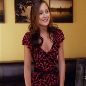 Nanette Lepore Very Cherry Dress ASO Gossip Girl